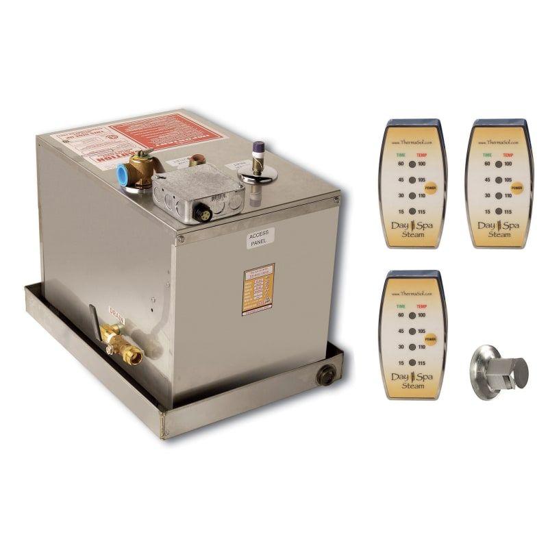 Thermasol Ds 3 400 N A Dayspa 16kw Steam Generator 3 Room System Steam Generator Shower Systems Spa Day