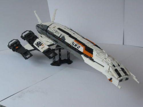 Ssv Normandy Sr 2 18 Ship Replica: LEGO SSV Normandy SR2, Mass Effect