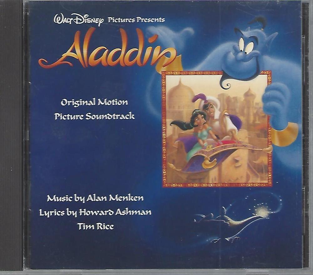 Aladdin Original Soundtrack By Alan Menken Cd Mar 2001 Disney