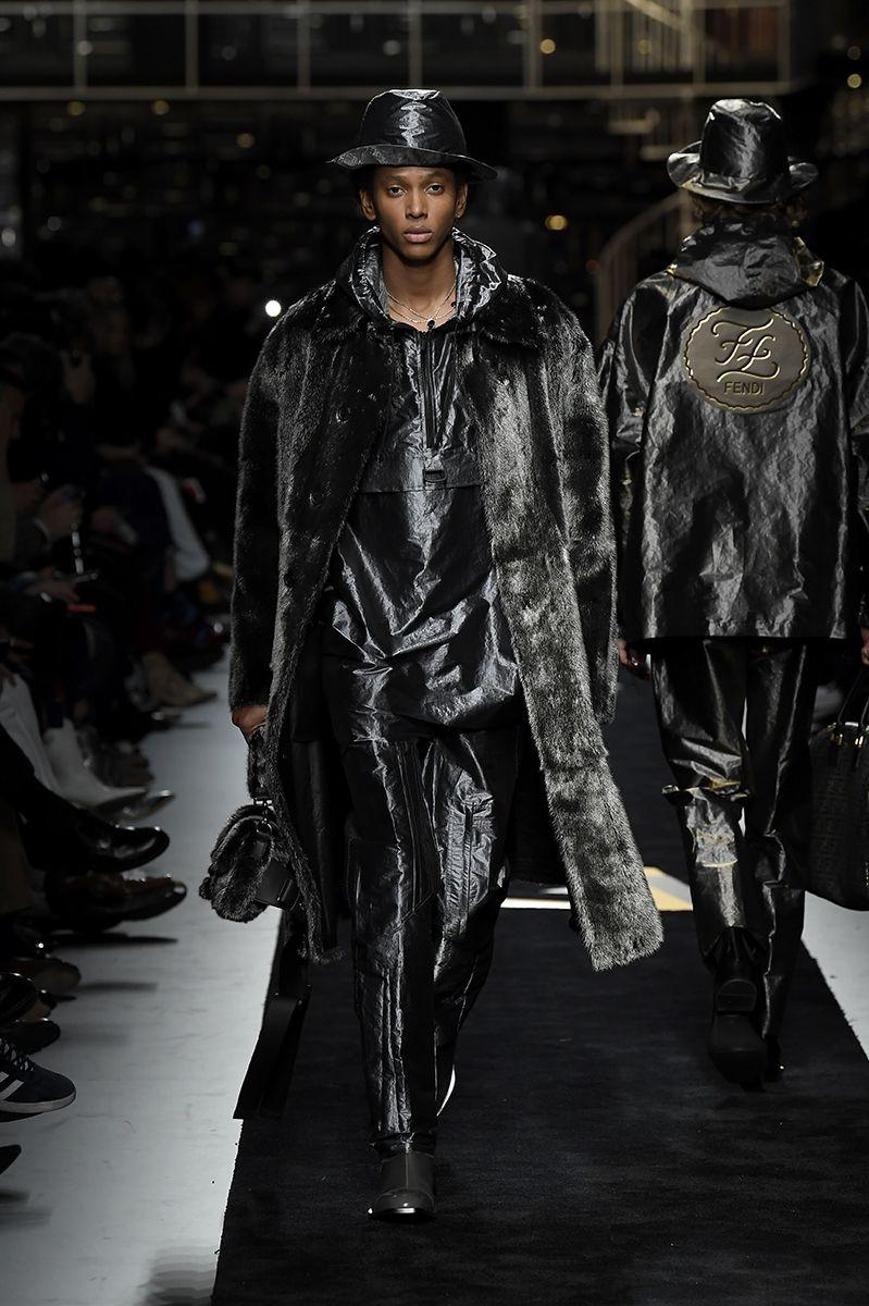 The Fendi Men S Fall Winter 2019 20 Collection Designed By Creative Director Silvia Venturini Fendi Fashion Fendi Couture Runway