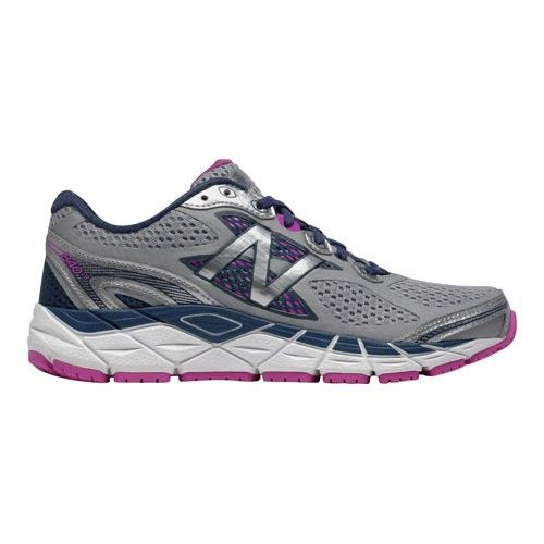 New Balance Women's W840v3 Running Shoe, White/Purple