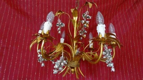 Kronleuchter Gebraucht ~ Hans kÖgl pioggia doro wandlampe barock gold silber kronleuchter