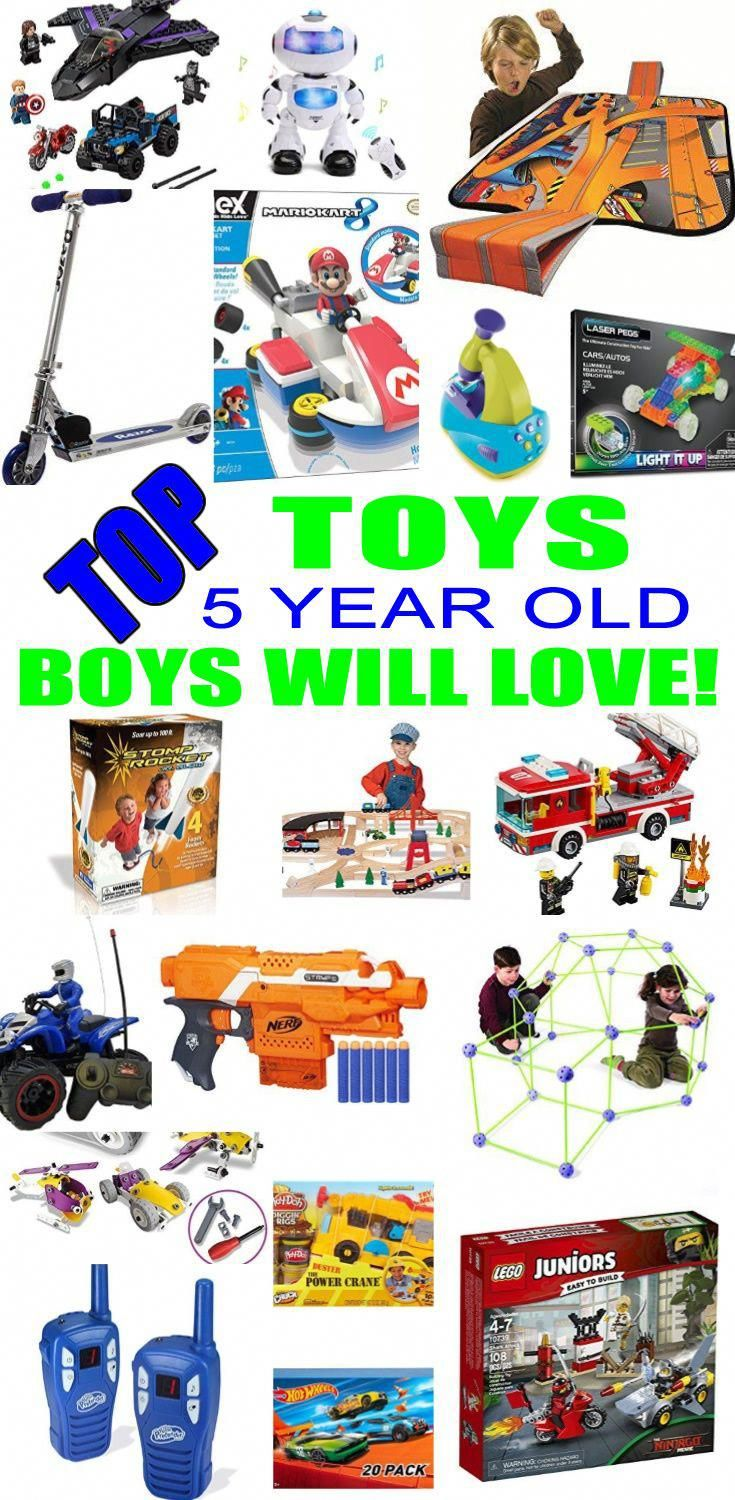 Best Toys for 5 Year Old Boys | Christmas gifts for 5 year ...