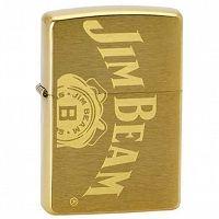 Zapalniczka Zippo Jim Beam Brushed Brass Zippo Jim Beam Beams