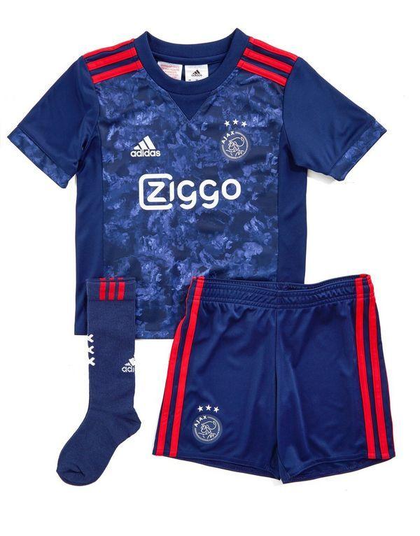 adidas Ajax 2017/18 Away Kit Children