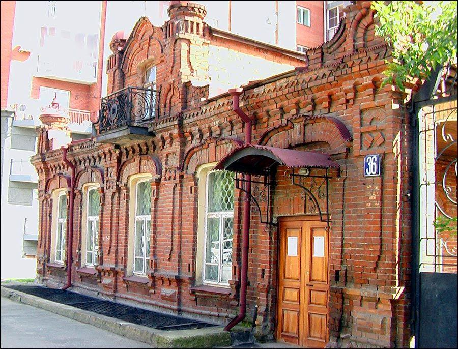 Novosibirsk old architecture