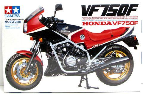 Honda Vf750f Motorcycle Tamiya 14021