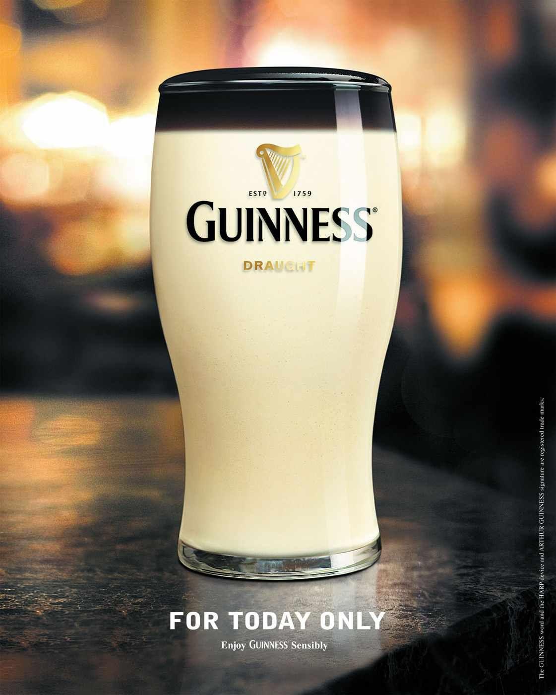 Guinness: April Fool | alcool | Pinterest