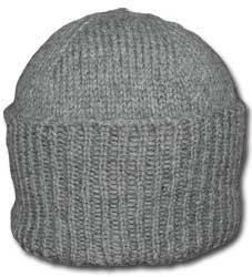 Classic knitted watch cap. Free knitting pattern  d8c38f5b103