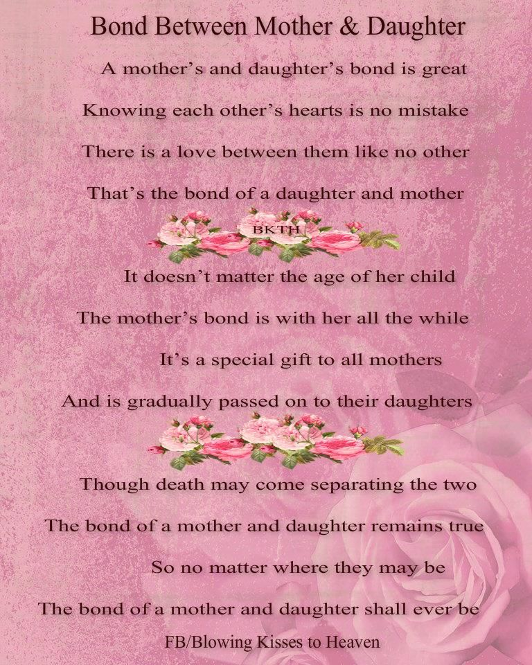A Bond Between A Mother And A Daughter With Images Baby Love