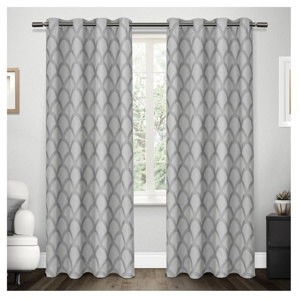 Electra Scalloped Heavyweight Jacquard Linen with Woven
