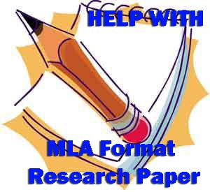 Research Paper MLA Format?