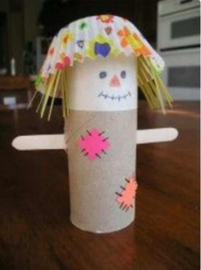 Herbstbasteln mit Kindern- 64 aberwitzige DIY Ideen mit Klopapierrollen #kreativehandwerke