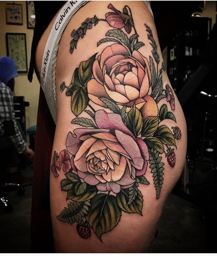 13+ Best Hip tattoo ideas floral ideas