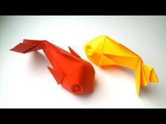 Photo of Origami Fisch Tutorial (Davor Vinko)