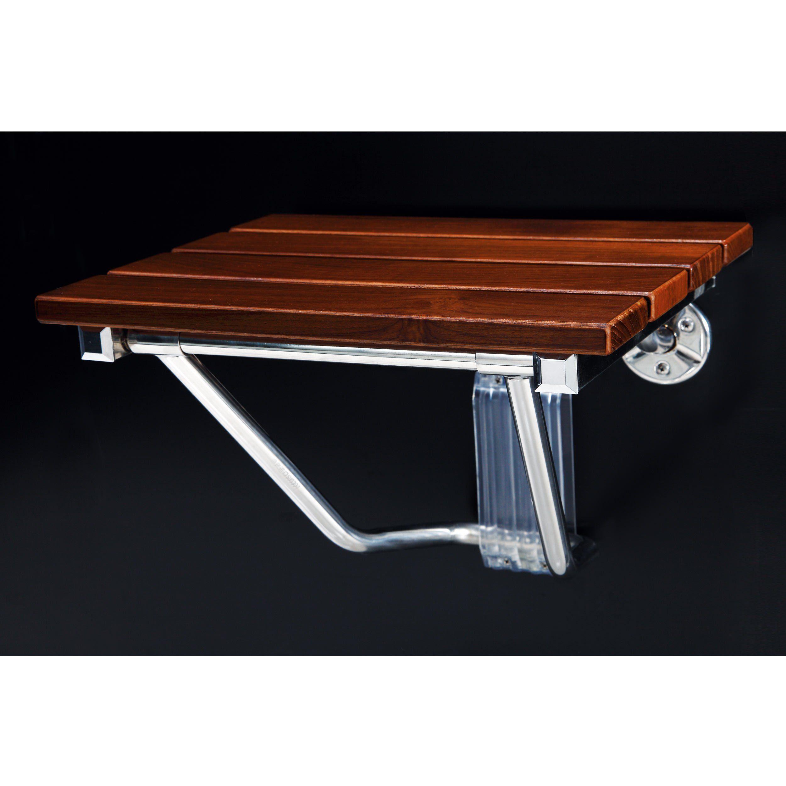 Teak Corner Shower Seat | Teak Shower Bench | Handicapped Shower ...