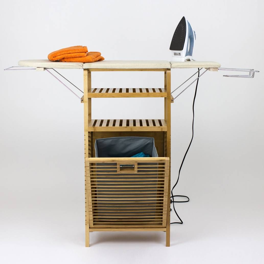 Product Image For Ironing Board Hamper Center 3 Out Of 3 Laundry