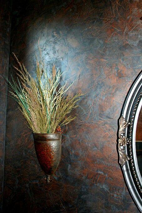 Estuco decorativo metal