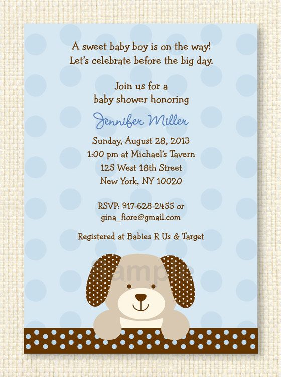 Cute puppy dog baby shower invitation puppy baby shower invite puppy dog printable baby shower invitation on etsy 1200 filmwisefo Image collections
