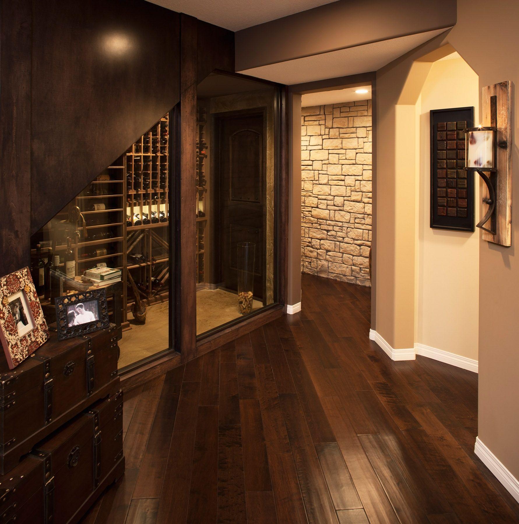 Basement Development - Wine Cellar