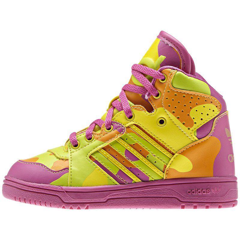 adidas Kinder Instinct Hi Neon Camo Schuh - http://www.kleidung-24.de/adidas-kinder-instinct-hi-neon-camo-schuh   #Adidas, #Hi-tops