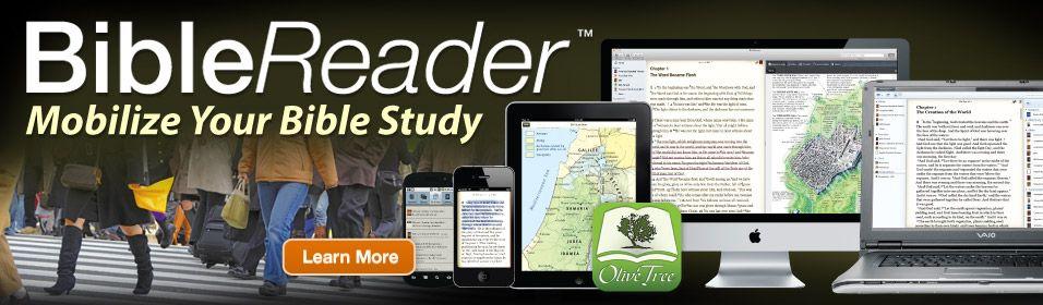 Bible study on ipad iphone mac windows and android