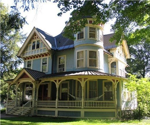 House · Image Result For Victorian House Classic Paint Colors