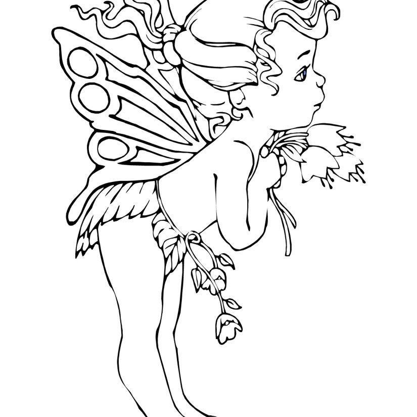 Angels, Fairys and so Much More Fairy coloring, Fairy