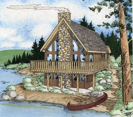 House Plans Home Plans And Floor Plans From Ultimate Plans Vacation House Plans Cottage Style House Plans Dream House Plans