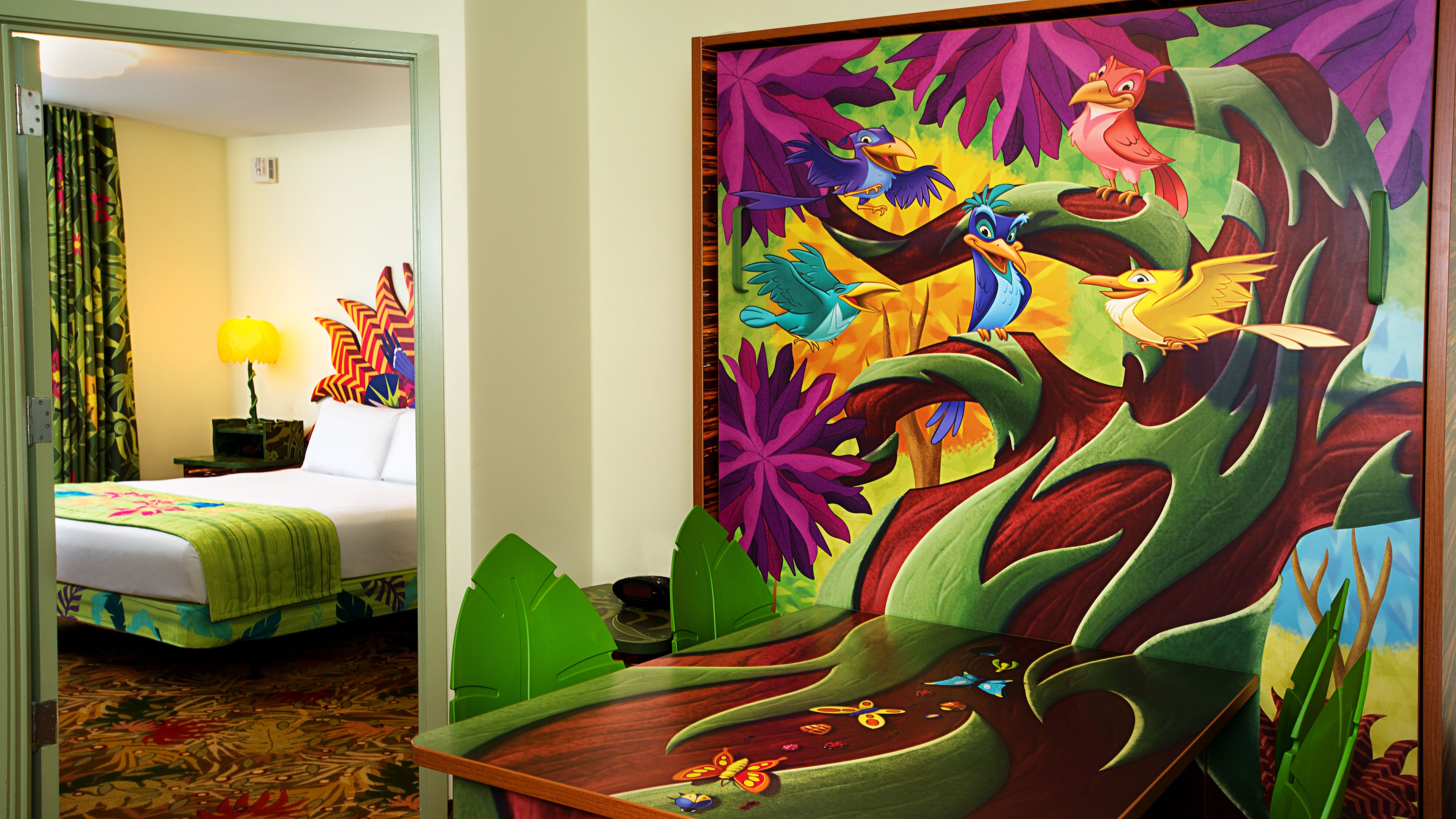 Art of Animation Hotel Lion King Rooms