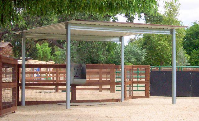 Pasture Shelter Horse Shelter Horse Shed Horse Barn Plans
