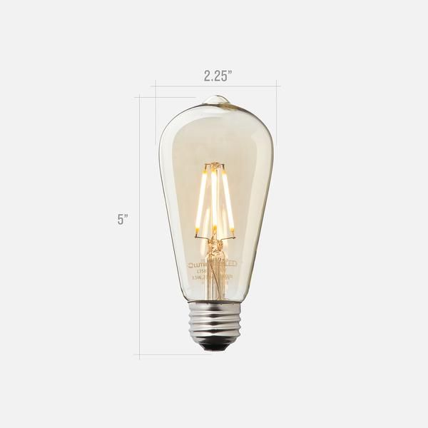 ST19 Filament LED Bulb #ledtechnology