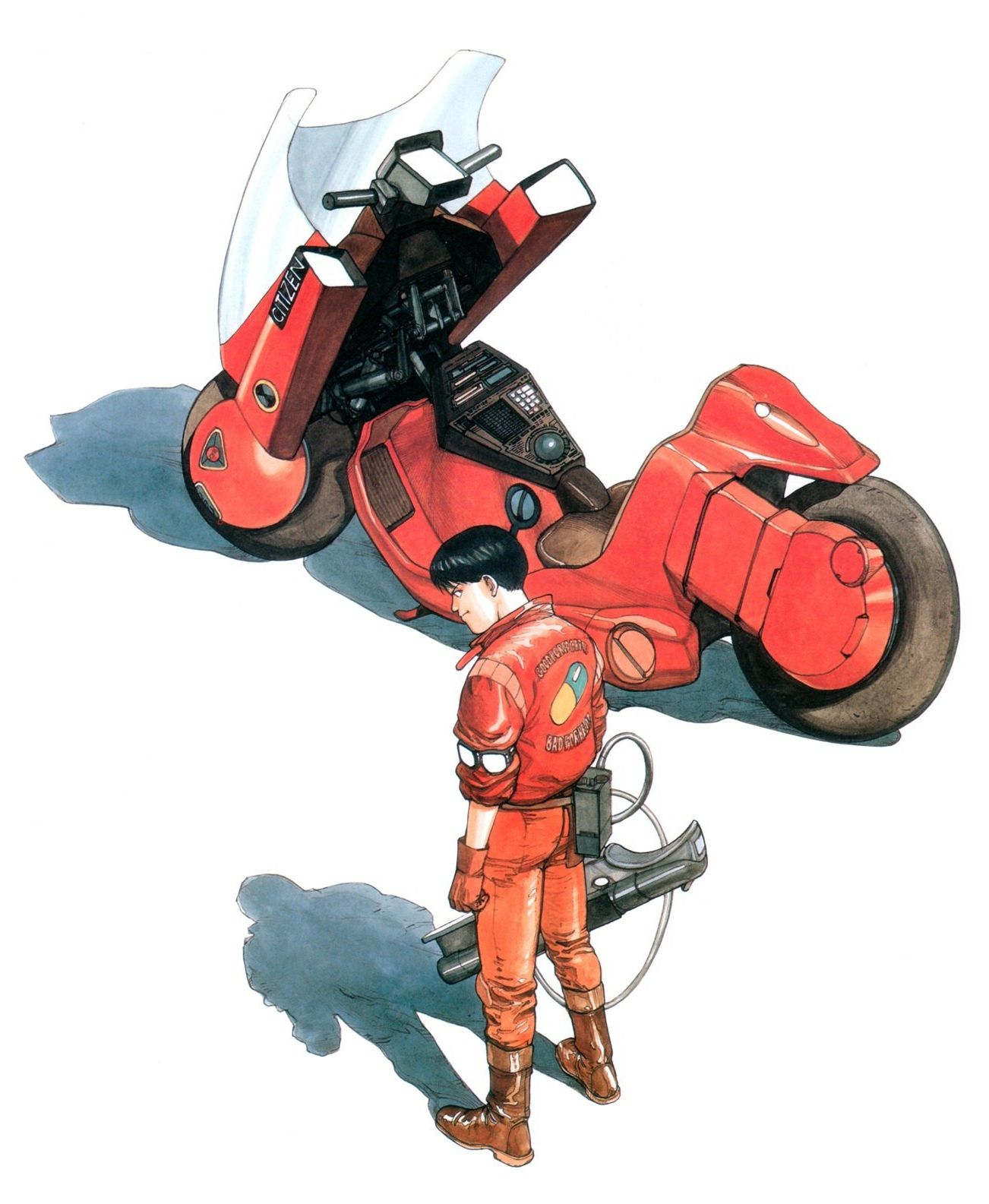 Akira is a 1988 Japanese science fiction anime film