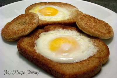 My Recipe Journey: Egg in a Hole!
