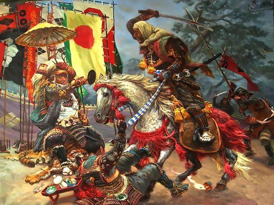 The fourth Battle of Kawanakajima: Takeda Shingen Vs Uesugi Kenshin - by  Dmitry Filatov. | Takeda shingen, Samurai art, Japanese history