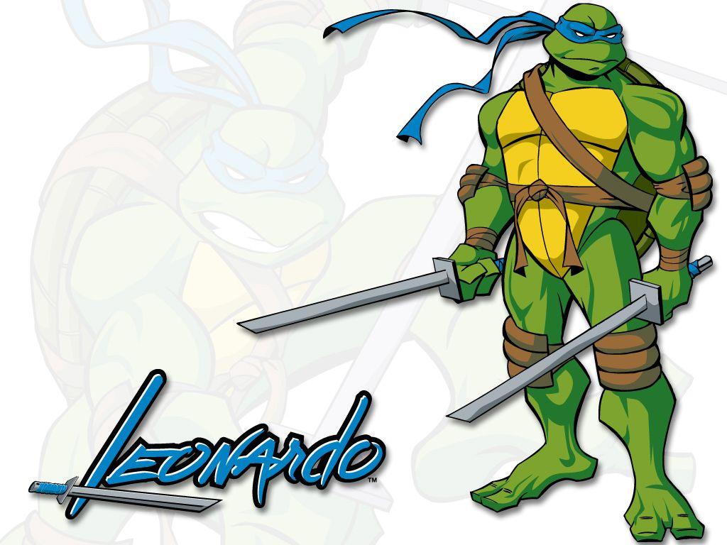 Картинки черепашек ниндзя леонардо