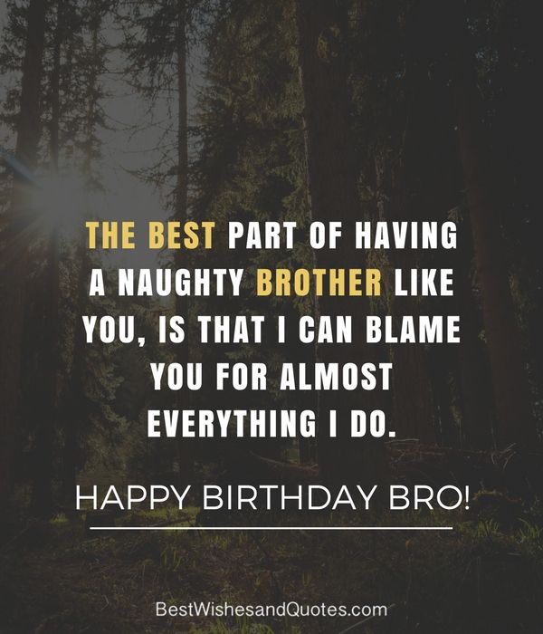 Happy Birthday Brother Brother Quotes Funny Happy Birthday Brother Quotes Happy Birthday Brother Funny