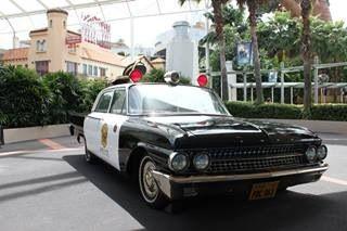 Old school police car
