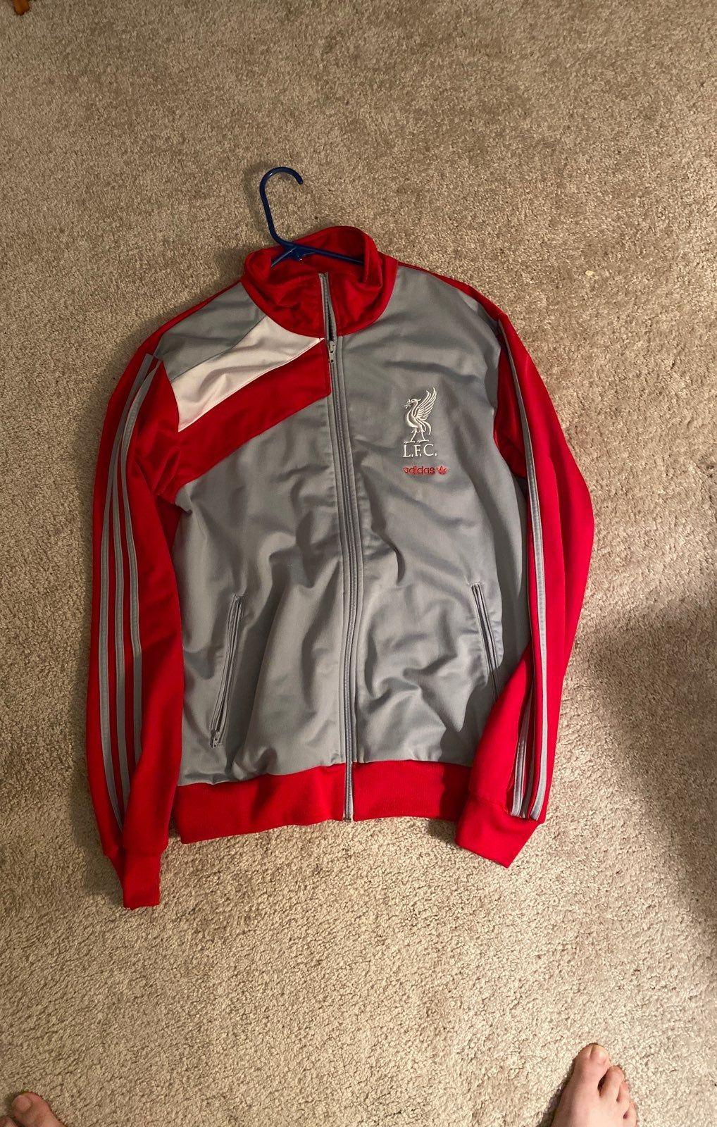 Adidas Lfc Liverpool Football Club Track Jacket Size Large Mens Sweatshirts Hoodie Jackets Track Jackets [ 1600 x 1018 Pixel ]