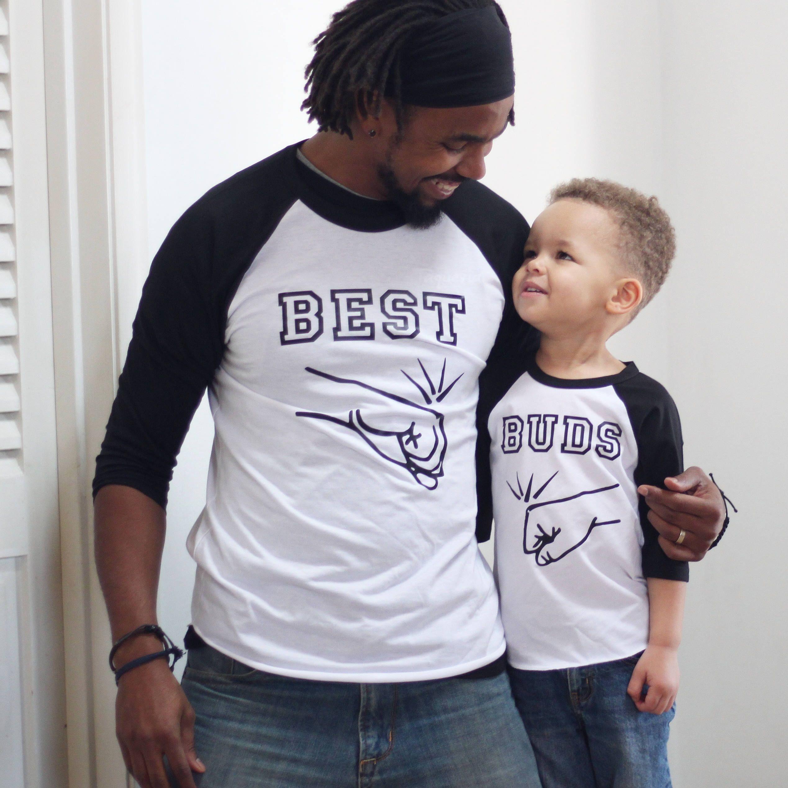father son matching shirts  best buddies shirts  fathers