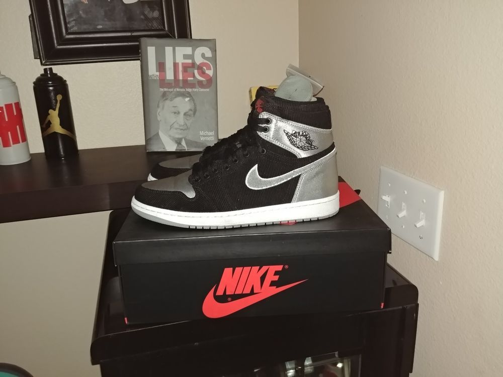 NIKE AIR JORDAN 1 RETRO Aleali May SHADOW SATIN SILVER Size 10  fashion   clothing  shoes  accessories  mensshoes  athleticshoes (ebay link) cc0300270