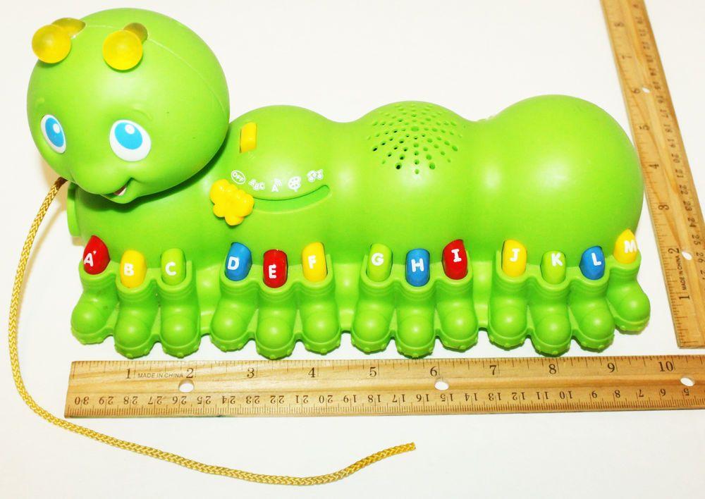 Leapfrog Alphabet Pal Toy Figure Caterpillar Electronic Music