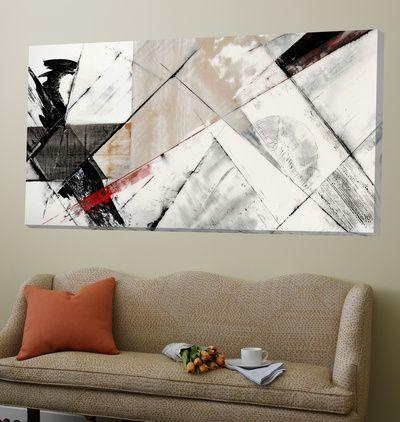 Kunstdrucke Modern abstrakte kunst schwarzweiß dekorative kunst kunstdrucke bei