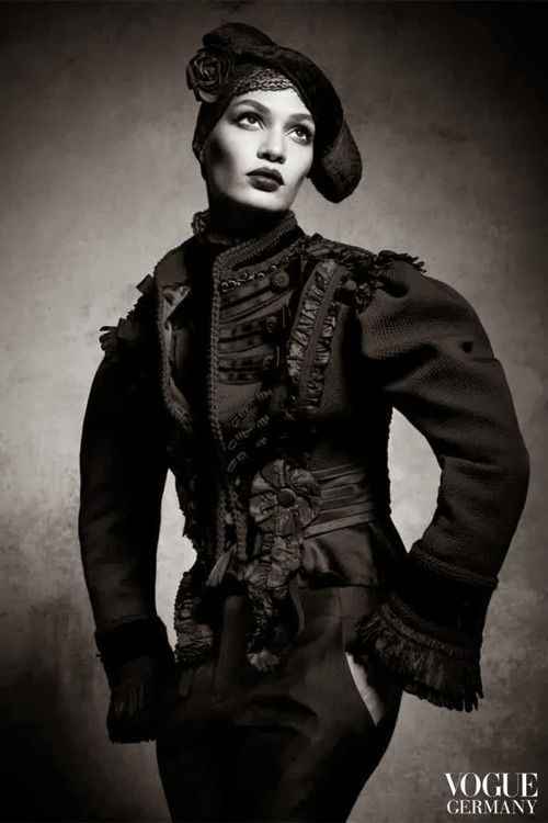 Joan Smalls - Vogue Germany January 2014