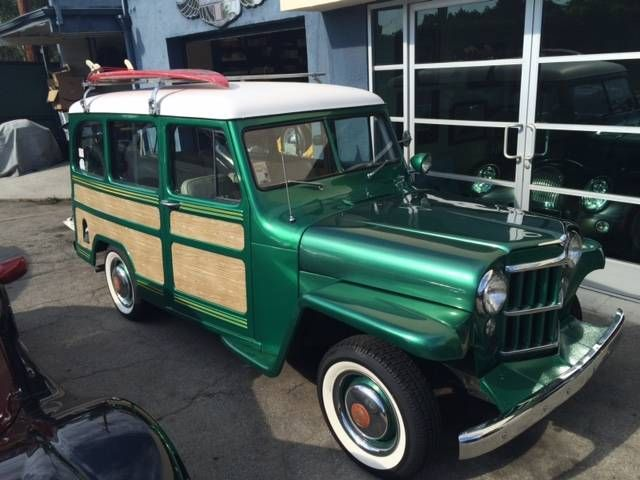 1951 Willys Utility Wagon For Sale Utility Wagon Willys Wagon