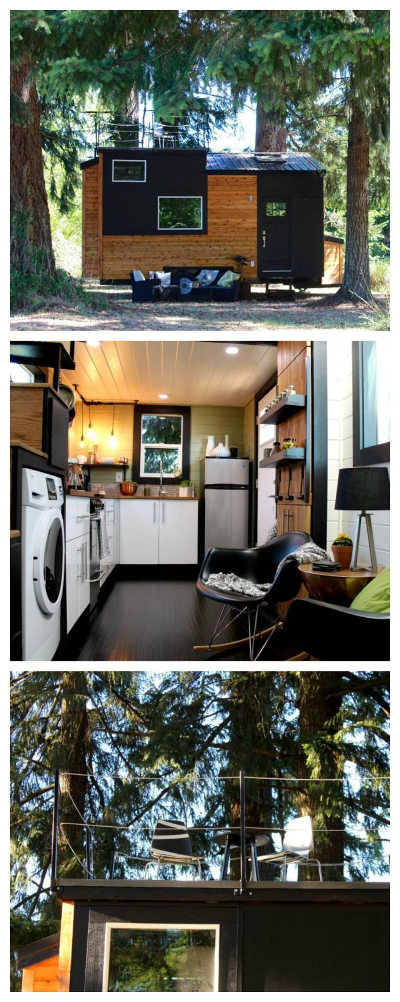 Best This Tiny Home Has A Gorgeous Rooftop Deck Tiny House Luxury Tiny House Design Modern Tiny House 400 x 300