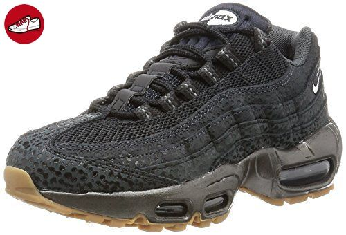 save off 02ef4 40e66 Nike Damen Wmns Air Max 95 Prm Turnschuhe, Black (Schwarz  Weiß-Anthrct