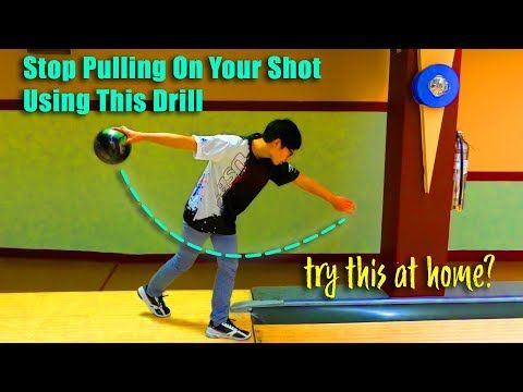 Fix Your Bowling Swing -- No Step Drill How To - YouTube