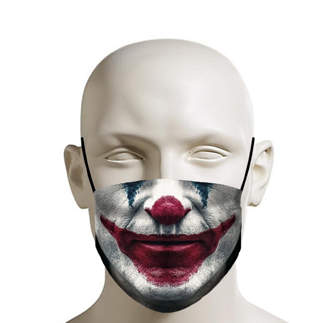 Jocker Face Mask In 2021 Scary Clown Face Clown Faces Joker Mask