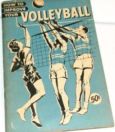#Volleyball+vintage | vintage: Volleyball book: 1950's: sports